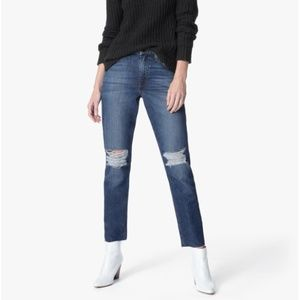 Joe's Jeans Debbie High Rise Straight Ankle NEW